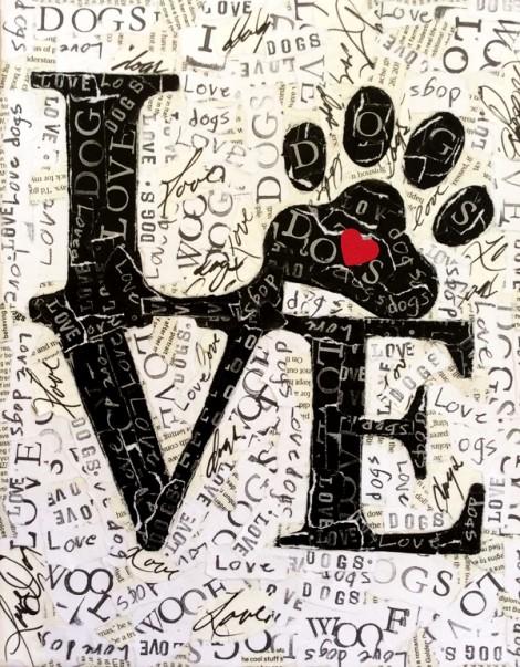 Love Paw w Heart